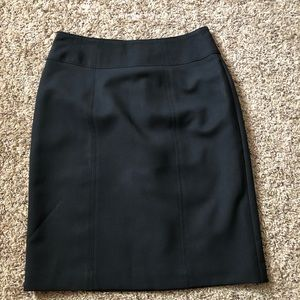 Women's Suiting High-Waisted Pencil Skirt